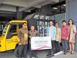 Nissan Indonesia Serahkan Donasi Rp1 Miliar untuk Korban Sulteng