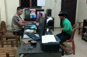 Nongkrong di Terminal Rajabasa, DPO Pencuri Motor Ini Ditangkap Petugas