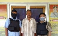 Nyabu di Tempat Tambal Ban, Kakek Ini Diringkus Polisi