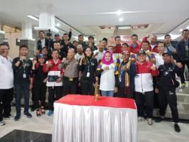 Obor Asian Games Disambut Dengan Semangat Gotong Royong Warga Tulangbawang