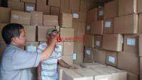 Logistik Surat Suara Kota Bandar Lampung Tiba Larut Malam