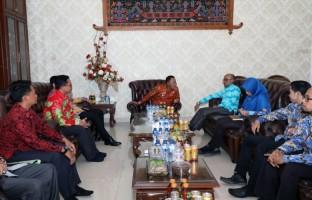 Ombudsman RI Perwakilan Lampung Kunjungi Pemkab Lamsel