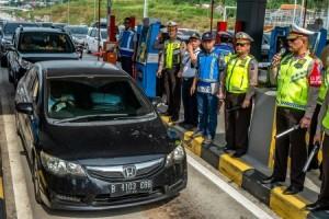 One Way Arus Balik ke Jakarta Mulai Diberlakukan