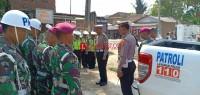 Operasi Gabungan Satlantas Polres Pesawaran-Brigif Marinir 3 Keluarkan 120 Surat Tilang