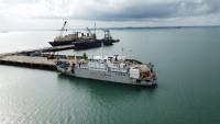 Optic Marine Luncurkan Kapal Khusus Rawat Jaringan Internet Bawah Laut