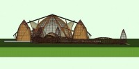 Ornamen Bambu Mendominasi Lokasi MTQ Provinsi di Tubaba