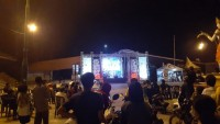 Pagelaran Seni Kembali Ramaikan Aktivitas Malam Warga di Lampura