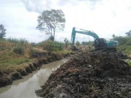 Paket Proyek Normalisasi Sungai di Lamsel Masih Tahap Lelang