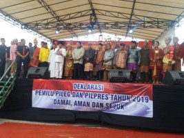 Pamala Ujo Ikrarkan Dukungan Bagi Jokowi-Ma'ruf Amin