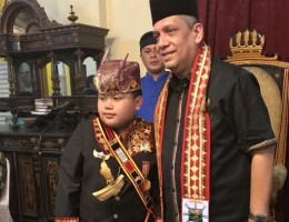 Pangeran Sekala Brak Hadiri Milad Ke-130 Istana Maimun