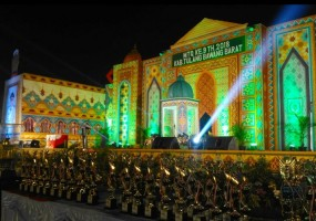 Panitia Siapkan 15 Masjid Sebagai Home stay Pada Pelaksanaan MTQ ke 47 Tingkat Provinsi Lampung Di Tubaba