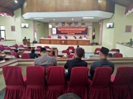 Pansus DPRD Lambar Beri 12 Catatan Terhadap Laporan LKPj Bupati TA 2018