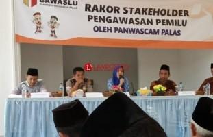 Panwaslu Palas Gelar Rakor Bersama Stakeholder Pengawasan
