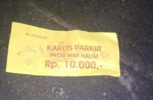 Parkir Lampung Fair Rp10 ribu, Warga Nilai Mahal