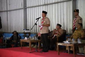 Parosil Ajak Anggota Pramuka Kemah Kebangsaan Meneladani Semangat Perjuangan Proklamator