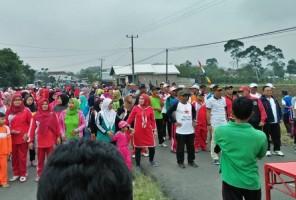 Parosil Ajak warga Budayakan Hidup sehat dengan Olahraga