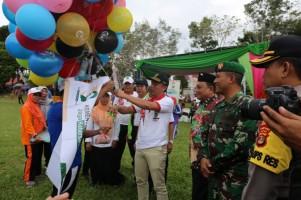 Parosil Buka Porseni Amal Bhakti Kemenag Provinsi Ke-73