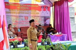 Parosil Komitmen Bangun Kesejahteran Rakyat