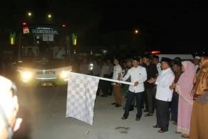 Parosil Lepas Keberangkatan 121 Jemaah Calon Haji Lambar