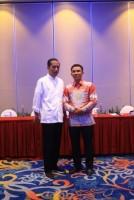 Parosil Minta Dukungan Pembangunan Kepada Jokowi