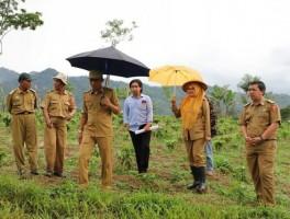 Parosil Tinjau Lokasi Sekolah Kopi di Lampung Barat