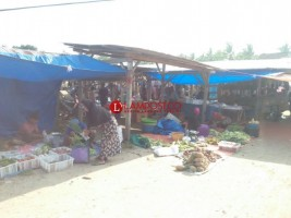 Pasar Tradisional Masih Diminati Warga Pesisir Barat.
