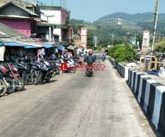 Pasar Tumpah di Jalinpantim Lamsel Potensi Sumbang Kemacetan