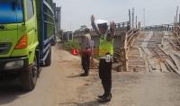 Pascapemulihan Fungsi Jembatan, Lalu Lintas Kendaraan Mesuji-OKI Ramai Lancar
