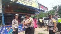 Pastikan Keamanan Mudik, Kapolres Lampung Utara Cek Pospam dan Posko Mudik