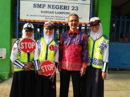 Patroli Keamanan Sekolah SMPN 23 Aktif Dibina Polresta