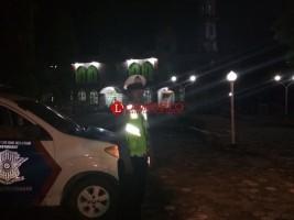 Patroli Pengamanan Sejumlah Masjid di Pesawaran