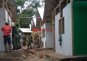 PCNU Lamsel Bangun 115 Hunian Sementara untuk Warga Terdampak Tsunami