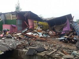 Peduli Korban Penggusuran Pasar Griya, PemudaSilahisabungan Galang Dana