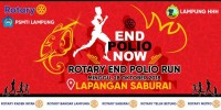 Peduli Polio, Rotary Club Berkampanye Melalui Jalan Sehat