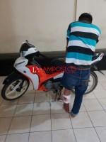 Pelaku Curas Yang Merampas Motor Pemudik Akhirnya di Dor