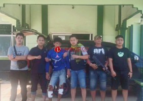 Pelaku Pencurian di Rawajitu Selatan Dilumpuhkan dengan 2 Tembakan