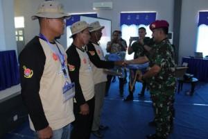 Pelatihan Budi Daya Udang Vaname di Brigif 4 Marinir Ditutup