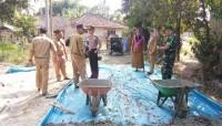 Pembangunan Infrastruktur di Desa Baliagung Libatkan Warga Setempat