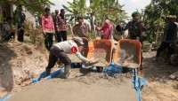 Pembangunan Infrastruktur di Sukabakti Mulai Berjalan