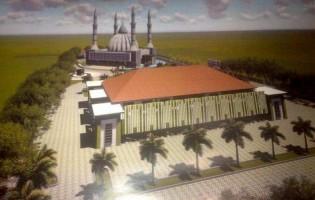 Pembangunan Islamic Center Pringsewu Ditaksir Telan Biaya Rp50 Miliar