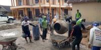 Pembangunan Jalan di Palasjaya Miliki Mutu K225