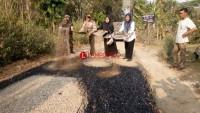 Pembangunan Jalan Lapen di Sukaraja Diklaim Sesuai RAB