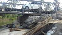 Pembangunan Jembatan Bailey  Permanen Tunggu Revisi DIPA