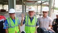 Pembangunan Kantor Pemkab Pesisir Barat Terkendala Faktor Alam