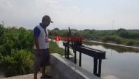 Pembangunan Pintu Air Dikeluhkan Petambak di Bunut