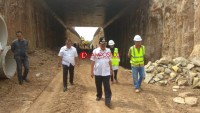 Pembangunan Underpass Bandar Lampung Hampir Rampung