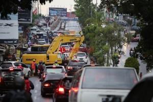 Pembangunan Underpass Unila Sudah 85 Persen