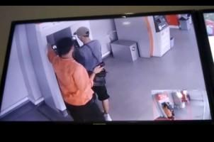 Pembobol ATM di Lampung Walk Sempat Tabur Uang