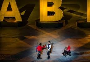 Pembukaan Asian Para Games Penghormatan Bagi Disabilitas