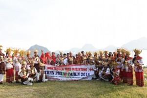 Pemda Lamtim Kenalkan Tari Melinting ke Nusantara